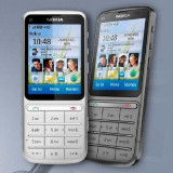 TELEFON NOKIA C3-01, Negru, <1GB, Neblocat, Single core, Nu se aplica