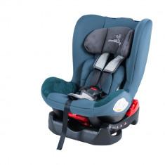Scaun auto 0-18 kg DhsBaby Voyage albastru - Scaun auto bebelusi grupa 0+ (0-13 kg) DHS Baby, In sensul directiei de mers