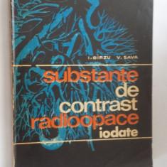 SUBSTANTE DE CONTRAST RADIOOPACE IODATE - Carte Radiologie