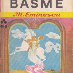 M. EMINESCU - BASME ( ILUSTRATII ELENA BOARIU ) - Carte Basme