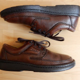 Pantofi Clarks Active Air, talpic Ortema, 100% piele naturala; marime 42; ca noi - Pantofi barbati Clarks, Culoare: Din imagine