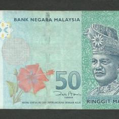 MALAEZIA MALAYSIA MALAESIA 50 RINGGIT 2009 [1] P-50a - bancnota asia