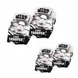 Set accesorii protectie Mondo Star Wars pentru copii bicicleta trotineta role