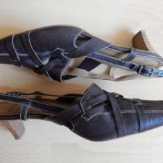 Pantofi / sandale Hogl Softline, piele naturala; marime 40.5; impecabili, ca noi - Pantof dama, Culoare: Din imagine