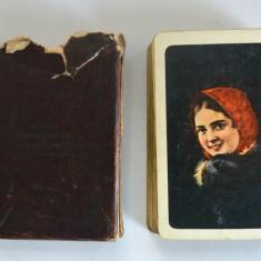 Pachet vechi de carti de joc rusesc, USSR - anii ' 70 - '80 - Tematica vanatoare