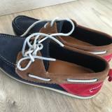 Pantofi barbatesti piele intoarsa Zara Man marime 42 mocasini