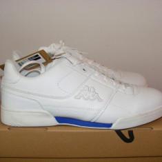 Adidasi Kappa Mes 2 Trainers Mens nr. 43 si 45 - Adidasi barbati Kappa, Culoare: Alb, Piele sintetica