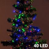 Lumini de Crăciun (40 LED) - Instalatie electrica Craciun