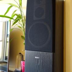 Boxe Sony 100W, bass reflex, 3 căi, calitate exceptională