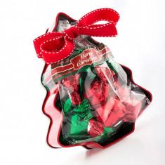 Cutie de Bomboane Brad de Crăciun - Ornamente Craciun