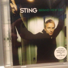 STING - BRAND NEW DAY(1999/A & M REC/GERMANY) - CD/ORIGINAL - Muzica Pop universal records