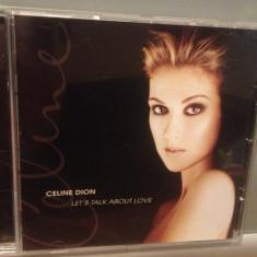 CELINE DION - LET'S TALK ABOUT LOVE (1997/CBS/AUSTRIA) - CD APROAPE NOU/ORIGINAL - Muzica Pop Columbia