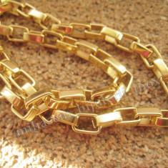 Lant inox placat = 40 ron - Lantisor placate cu aur