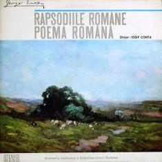 George Enescu – Rapsodiile / Poema (LP) - Muzica Clasica electrecord, VINIL