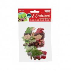 Set 25 figurine decorative din spuma - E Craciun - Ornamente Craciun