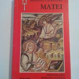 EVANGHELIA DUPA MATEI - Arhiepiscopia Romano-Catolica Bucuresti, 1996