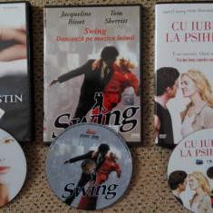 Filme DVD :Swing, Pasiune si destin, Cu iubirea la psihiatru, vezi descrierea - Film thriller, Romana