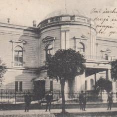 SATU MARE, TEATRUL ORASENESC, CIRCULATA 1909 - Carte Postala Maramures 1904-1918, Printata