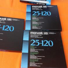 Banda de magnetofon MAXELL UD25-120 neinregistrata