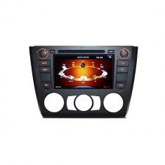 Resigilat - Sistem de navigatie DVD + TV analogic pt BMW E81 E82 E87 E88 seria 1 model PNI 9205 clima manuala - Navigatie auto