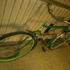 Bicicleta retro, 22 inch, 28 inch, Numar viteze: 1 - Bicicleta pegas ideal