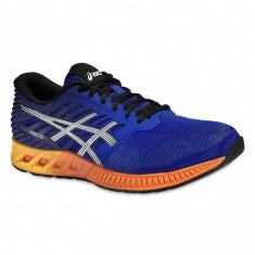 Adidasi barbati - Pantofi Alergare, Asics, FuzeX Cushioning, Albastru-Portocaliu, Barbati-44 - OLN-OL10-T639N.4350|44