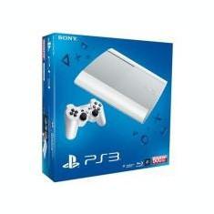 Consola Playstation 3 Slim 500Gb White