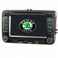 Unitate auto Udrive multimedia navigatie (DVD, CD player, TV, soft GPS) dedicata pentru Skoda Octavia II - UAU17540 - Navigatie auto