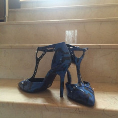 Pantofi dama - Pantofi noi, comozi, originali, model deosebit, marime 38, 5.