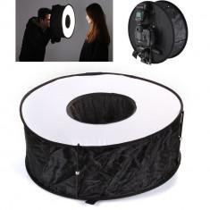 Softbox circular cu diametul de 45cm, pentru Flash blitz extern - Blitz circular
