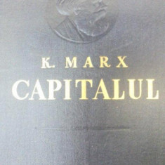 Istorie - CAPITALUL-KARL MARX VOL 3 PARTEA I-A CARTEA A III-A 1956