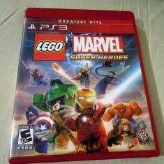 Joc Lego Marvel Super Heroes, PS3, original, alte sute de jocuri! - Jocuri PS3 Altele, Actiune, 16+, Single player