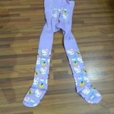 REDUCERE!!!!STRAMPI HELLO KITTY MOV --0-1 ANI - - Ciorapi Copii