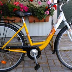 Bicicleta de oras Vortex Cityline, import Germania, 18 inch, 28 inch, Numar viteze: 3