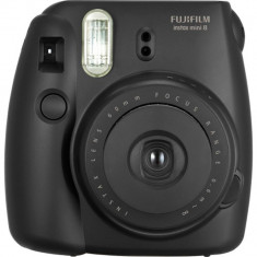 Camera foto instant Fujifilm Instax mini 8 negru - Aparat Foto cu Film Fujifilm, Mediu