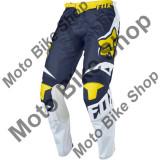 MBS Pantaloni motocross Fox 180 Race Se, alb/galben, 36, Cod Produs: 1733221436AU