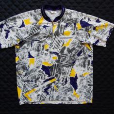 Tricou ciclism Vintage Nakamura; marime L, vezi dimensiuni exacte; impecabil