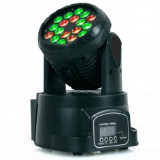 Efecte lumini disco Moving Head 18 LED-uri de 3W RGB - Efecte lumini club