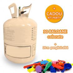 Butelie cu heliu 0.25 mc pentru umflarea baloanelor, Funny Fashion - Baloane copii