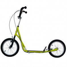 Bicicleta electrice - Trotineta Adulti, Master, Verde, Roti 16 Inch, Greutate Maxima 80 kg - OLN-ONL3-MAS-S017-GREEN
