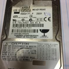 Suport laptop - Hard TOSHIBA de 40 gb, de laptop, - IDE - functional
