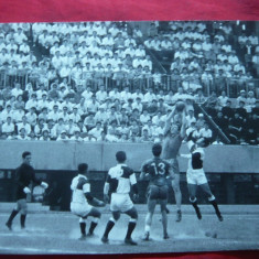 Fotografie- Meci de Handbal in 11 Romania-Japonia- Tokio 1960, 17, 5x12 cm