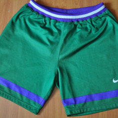 Pantaloni scurti largi NIKE Sports. (Sport, Basket, Hip-Hop) - Bermude barbati, Marime: M, Culoare: Verde
