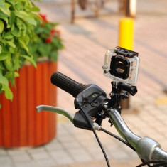 Suport ghidon + PIVOT pentru GoPro Hero 4 3+ 3 2 session(bike mount bicicleta )
