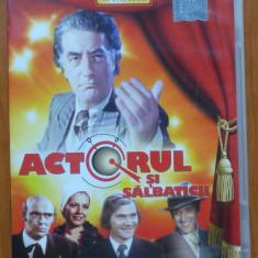 3 DVD ; Operatiunea Monstrul ; Actorul si salbaticii ; Premiera ; Toma Caragiu - Film comedie, Romana