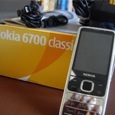 NOKIA 6700 Argintiu RECONDITIONATE - Telefon Nokia