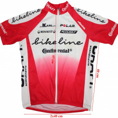 Tricou ciclism Santini, barbati, marimea S, Tricouri