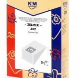 Sac aspirator Zelmer 700, hartie, 5X saci, K&M