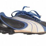 Adidasi crampoane negru cu bleumarin Puma, marime 35