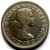 MOKAZIE, MAREA BRITANIE, 6 SIX PENCE 1961, Europa, An: 1961, Crom